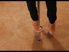 10 inch heels