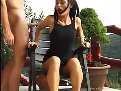 Boots, Blowjob, Boots, Cougar, Couple, Cum in Mouth