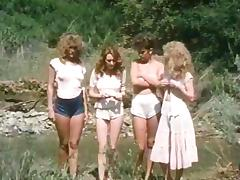 Jacqueline Lorians, Brooke Fields, Debi Diamond in vintage fuck movie
