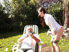 Grandfather, Ass, Ass Licking, Fetish, Fingering, Grandpa