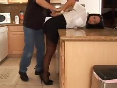 Gina Rae Michaels busty  in trouble