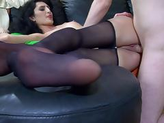 NylonFeetVideos Clip: Cora and Rolf
