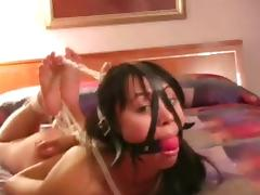 Nude, BDSM, Nude, Hogtied