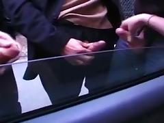Big-titted sluts getting screwed in a vintage porn