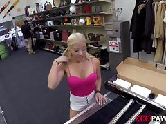 Punished by a hard throbbing pecker for shoplifting