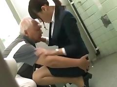 Asian Old and Young, 18 19 Teens, Asian, Grandpa, Japanese, Old Man