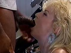 Chessie Moore, Dusty, Bridgett Monroe in vintage sex video