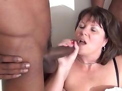 Black Granny, Black, Blowjob, British, Ebony, Facial