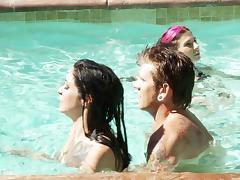 Pool, Hardcore, Outdoor, Pool, Tattoo, Teen