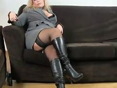 mature in boots
