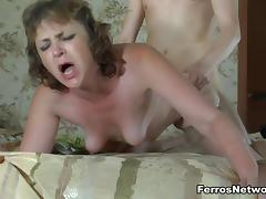 Mom and Boy, Amateur, Angry, BBW, Bedroom, Caught