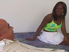Diaper, Black, Blowjob, Ebony, Hardcore, Interracial