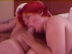 wife swallows another load of cum from stranger
