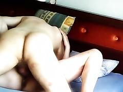 Pumping straight up my tight cunt