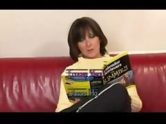 Hot British Mom fucks young boy