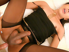 LadyboyGold Video: Silky and Exposed Bareback
