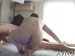 Milf takes on two horny men