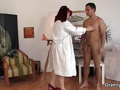 Mom and Boy, 18 19 Teens, Game, Granny, Horny, Mature