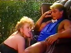 Buffy Davis, Danielle, Jeanna Fine in vintage xxx video