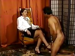 Dominant Woman Spanking Husband