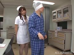 His nurse is a generous and skilled cocksucker and ass licker