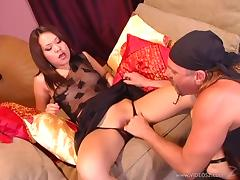 Hot and wild asian porn sweetheart Kammy gets fucked in nasty and hot orgasm