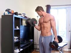 Gym, Amateur, Big Cock, Brunette, Gym, HD