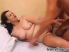 Grandma And A Young Stud Having Sex