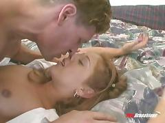 Missionary, Blowjob, College, Couple, Fingering, Fucking