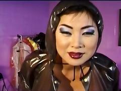 Latex, Asian, Boobs, Latex