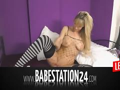 Babestation24 - Hot German Babe in Hardcore-Liveshow