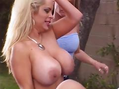 Muff Diving, Big Tits, Blonde, Boobs, Friend, Huge