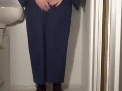 pissing kimono