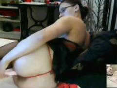 Homemade masturbating clip with my honey fucking a toy