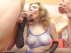 All, Anal, Fishnet, Stockings, Double Penetration