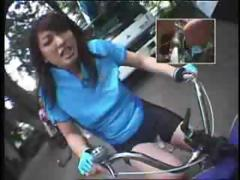 Riding Dildo Bikes In Public