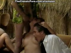 Karen Summer, Cara Lott, Paul Barresi in vintage fuck movie
