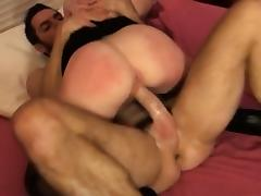 Hot wife extreme anal