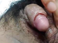 Clitoris, Amateur, Asian, Big Clit, Clit, Hairy