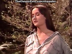 Lilli Xene, Tara Gold, Tina Tyler in vintage porn scene
