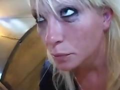 Blonde, Amateur, Blonde, Danish, Face Fucked, Throat Fucked