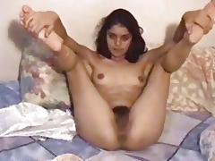 Valuable rimjob from the unshaved Arab wench