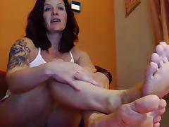 Female-Dominator mother I'd like to fuck Flawless Wrinkled Soles