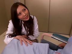 A blowjob from Rin Sakuragi would make any man hard