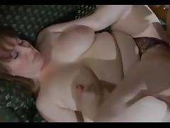 Mature Woman Catches beautiful Boy Masturbating