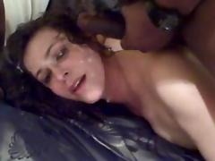 Wife Taking Cum Shot to the Face from BBC
