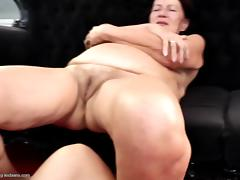 Real granny fucked by two young girls taboo