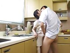 Kitchen, 18 19 Teens, Asian, Classy, Fingering, Japanese