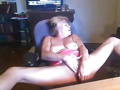 Hairy Mature, Amateur, Blonde, Dildo, Grinding, Hairy