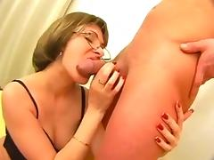 Russian mature creampie